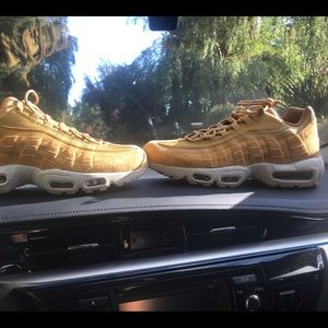 AirMax 95 Wheat Colorway